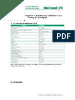 Anexo III - Materiais Cirurgicos e Anestésicos