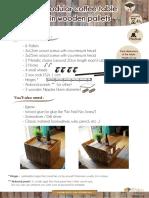DIY Tutorial Modular Pallet Coffee Table Benoit Brousseau
