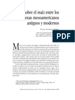 El Maìz en Mesoamerica Gonzalez Torres