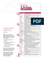 Pocket Grammar Guide