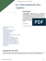 Características e Funcionamento Dos HDs (Discos Rígidos)