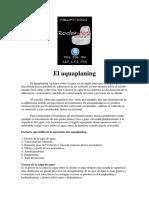 El Aquaplaning