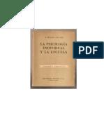 Adler Alfred - La Psicologia Individual Y La Escuela