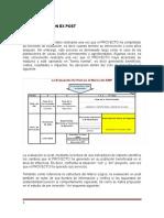 Evaluacion Ex Post Plantacion