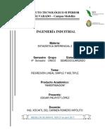 Investigación; Regresión Lineal Simple y Múltiple