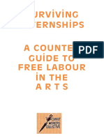 Carrot Workers Collective Surviving Internships Counte Guide Free Labour the Arts