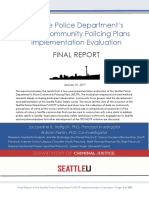 SPD MCPP Implementation Evaluation Final Report