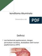 Kondiloma Akuminata Sken 4 Blok 17