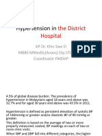 Hypertension in the District Hospital