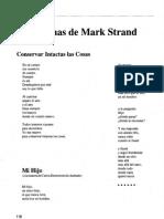 Poemas Mark Strand