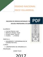 Determinacion de Cafeina Por HPLC Primer Informe de Organica III