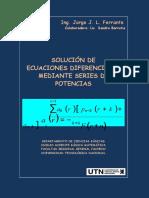 Solucion Ecuac Diferenciales Ferrante