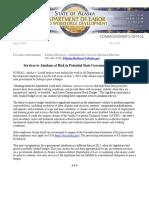 DOLWD 2017 Shutdown Press Release