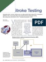 Partial Stroke Testing