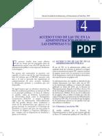 Acceso y Uso de Las TIC en La Adm. Pública, Las Empresas y Los Hogares - Cap. 4 - Costa Rica