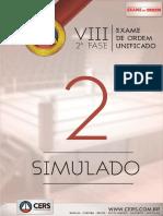 530 2 Simulado Oab 2fase Viii Exame Dir Trabalho