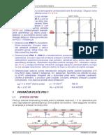 P10 - Jednospratni Ram VETAR (Pismeni)