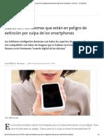 Cuáles Son Los Idiomas Que Están en Pel...s Smartphones - 03.05.2017 - LA NACION