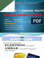 Derecho Minero. ( Electricidad)