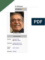 Gabriel García Márquez (Vida y Obra)