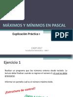 EP1 2017 - Máximos y Mínimos Pascal
