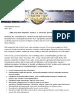 DNR Prepares for Public Impacts of Potential Government Shutdown