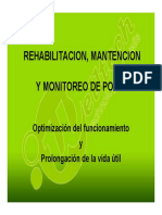 Rehabilitacion Pozos de Agua - Welltech Sa