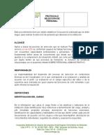 Protoccolo Selección de personal.docx