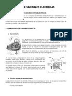 Tema 3 Medición e Instrumentación - MEDICIÓN DE VARIABLES ELÉCTRICAS