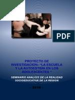 PROYECTO -Investigacion Educativa