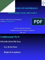 CONFERENCIA 9_Diagramas de Fases