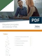 Etiquetas Principales Del Estandar HTML