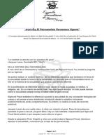 Vigencia Del Psicoanálisis - EFBA