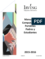 Student-Parent Laptop Handbook 2015-2016 - SPANISH