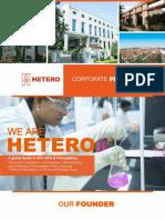 Hetero Corp Presentation 2016