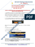 Guia de Actualizar Az America Con Allcode Bootloader