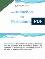 1415010036.0804Introduction to Periodontics