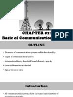 Chapter #1_Basic of Communication System