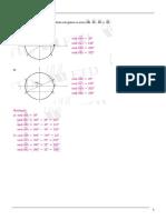 1 Ano Ciclo Trigonometrico Exercicios Resolvidos