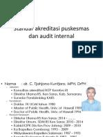 Standar Akreditasi Puskesmas Dan Audit Internal