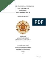 MMUGM Eks a-39 Big Paper Arya Awalrakhman Strategic Manajeman