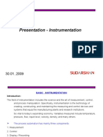 Presentation - Instrumentation