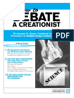 How to Debate a Creationist