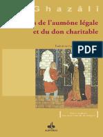 Les Secrets de l'Aumône Légale Et Du Don Charitable