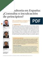La Consultoria en España