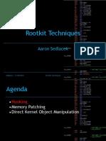 11 Rootkit Techniques