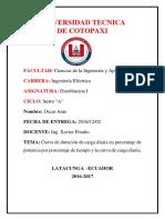 Informe de Trabajo Autonomo de Distribucion