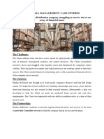 Financial Management Case Studies
