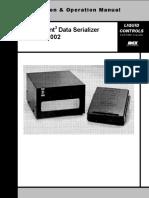 LectroCount3 Data Serializer E43002 IOM 500028
