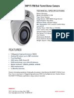 Hikvision DS-2CE56F1T-ITM Exir Turret Dome Camera